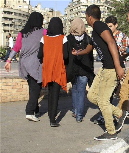 Mideast Egypt Sexual Harassment